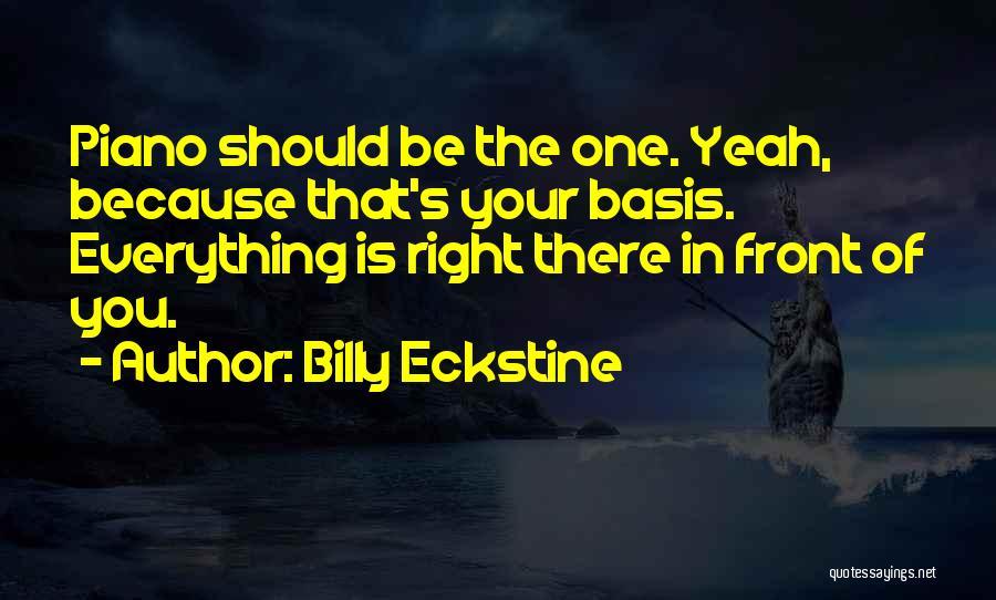 Billy Eckstine Quotes 1587582