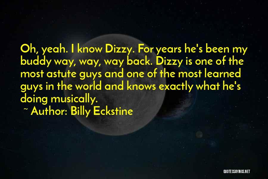 Billy Eckstine Quotes 1591270