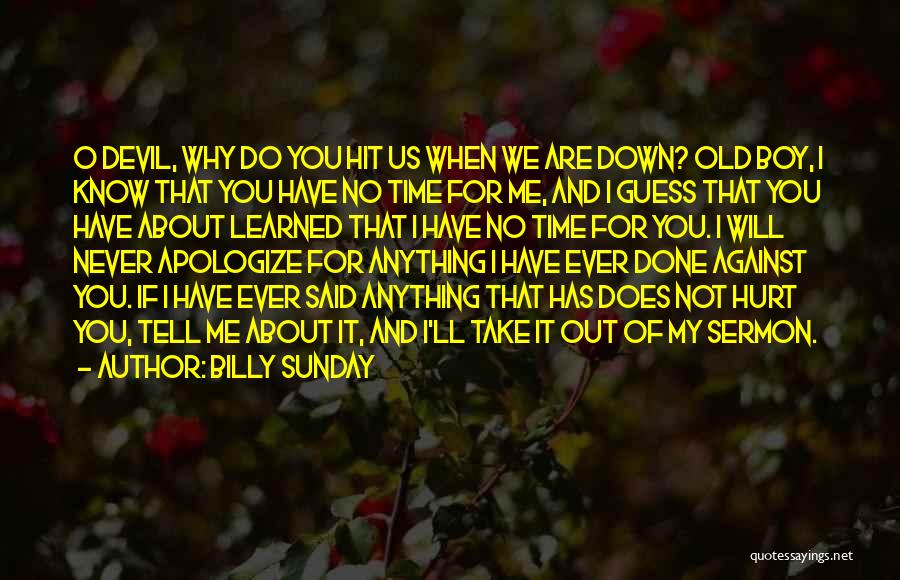 Billy Sunday Quotes 1205656