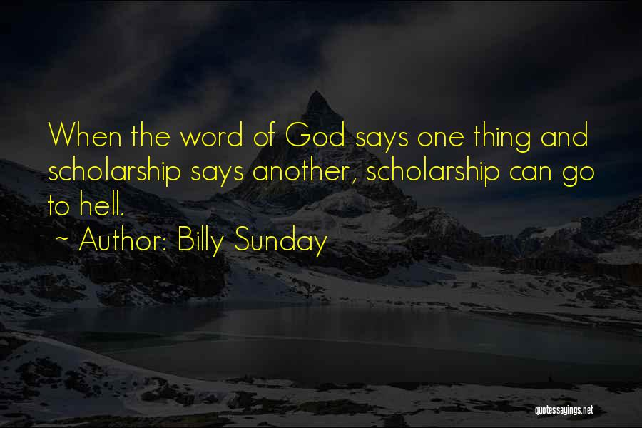 Billy Sunday Quotes 1817916