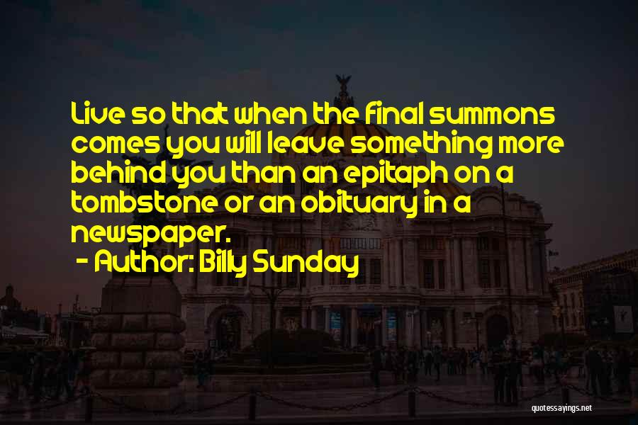 Billy Sunday Quotes 2199786