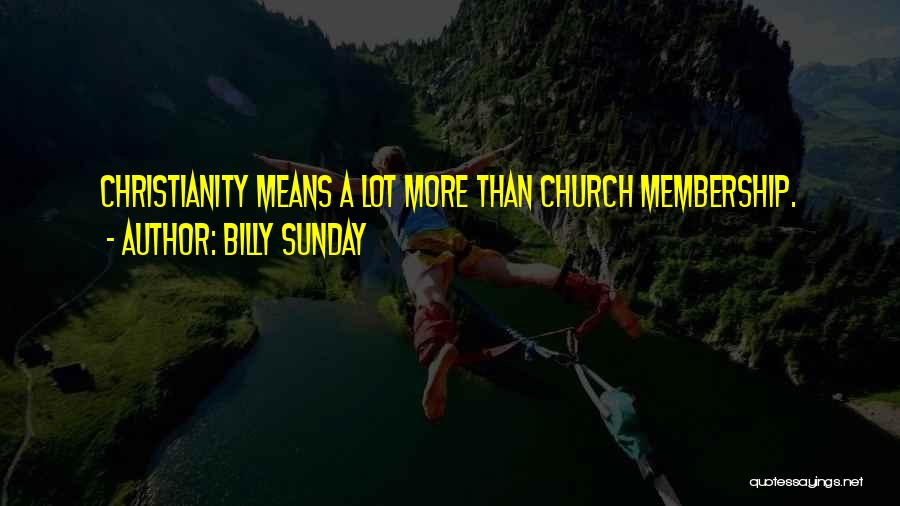 Billy Sunday Quotes 244992
