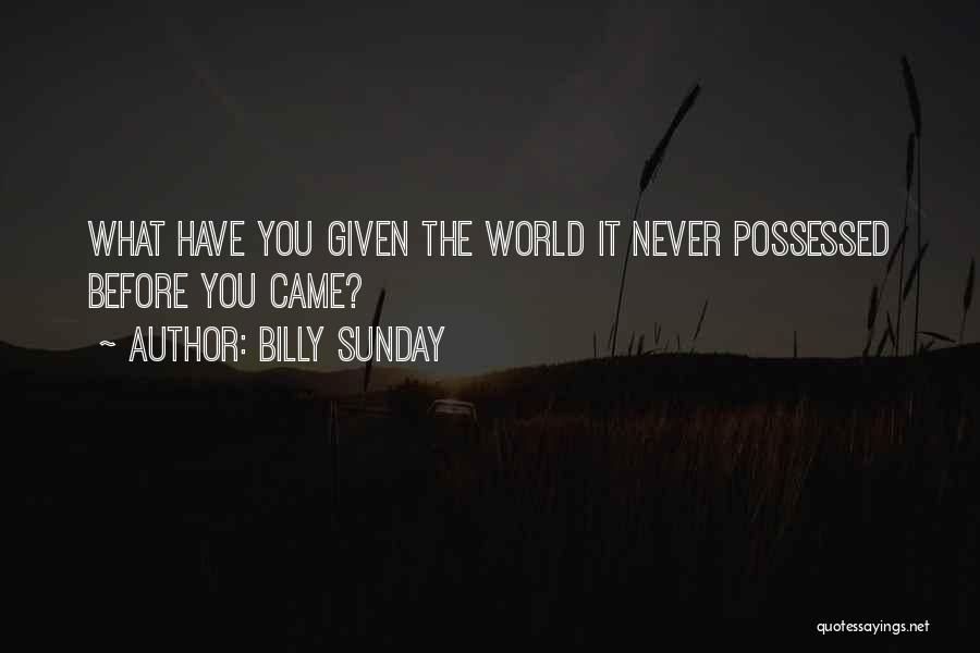 Billy Sunday Quotes 562515