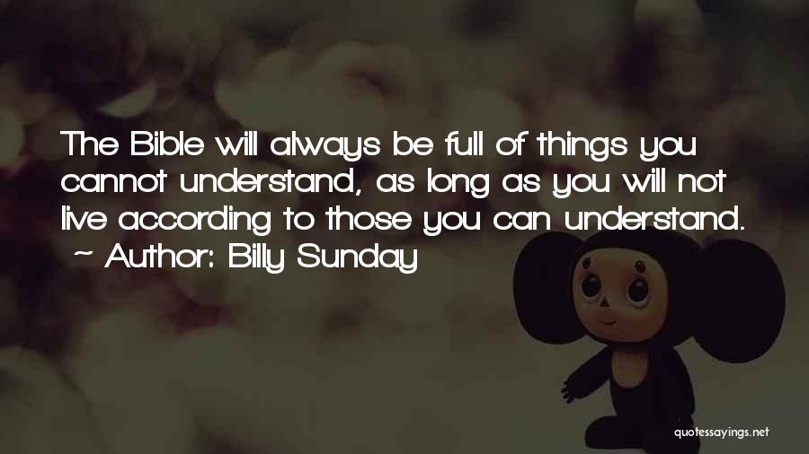 Billy Sunday Quotes 587551