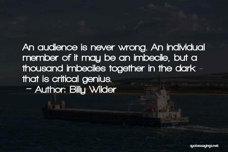 Billy Wilder Quotes 1019084
