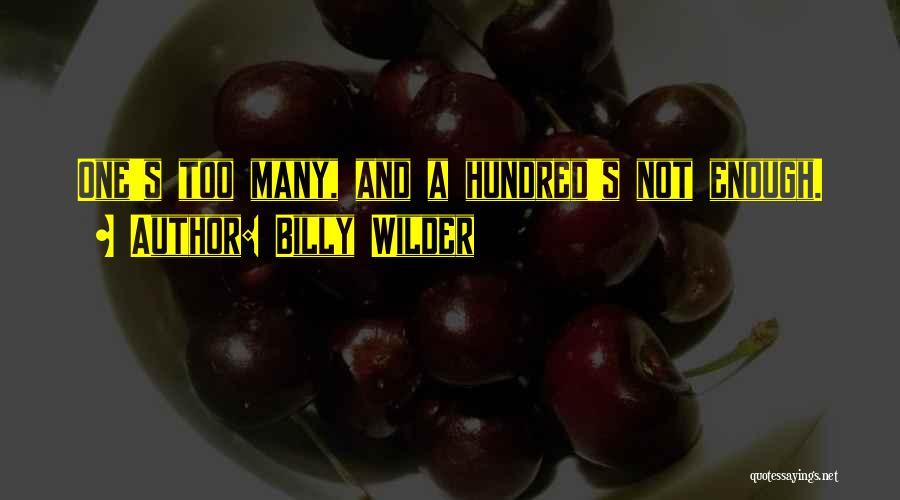 Billy Wilder Quotes 170191