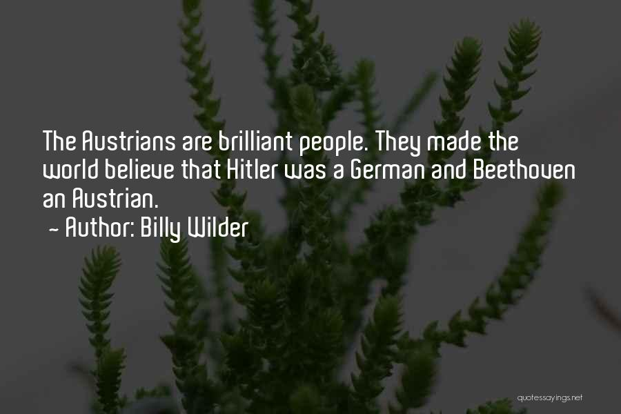 Billy Wilder Quotes 2135888