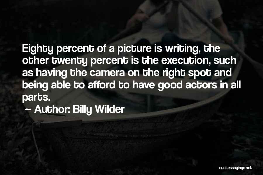 Billy Wilder Quotes 271720