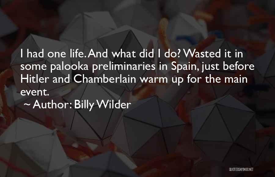 Billy Wilder Quotes 390374