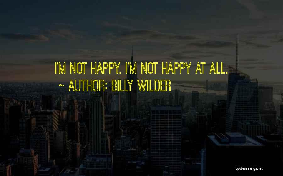 Billy Wilder Quotes 451243