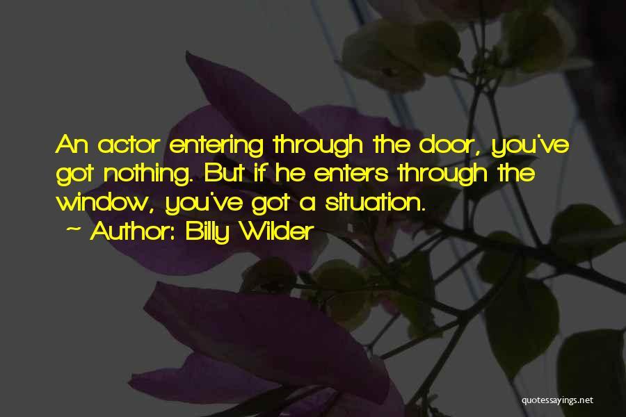 Billy Wilder Quotes 731685