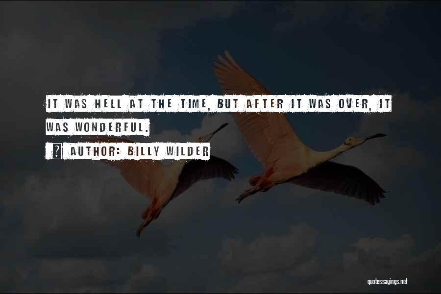 Billy Wilder Quotes 835248