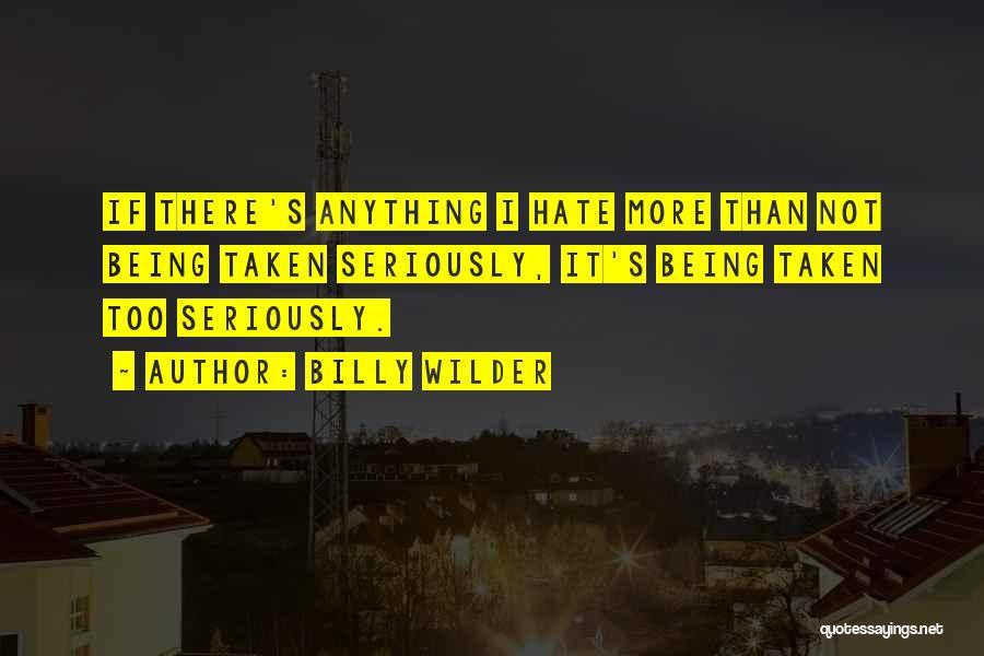 Billy Wilder Quotes 919455