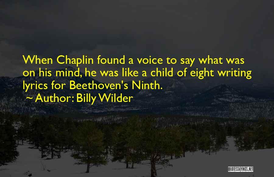 Billy Wilder Quotes 938757
