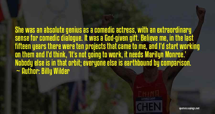 Billy Wilder Quotes 943273