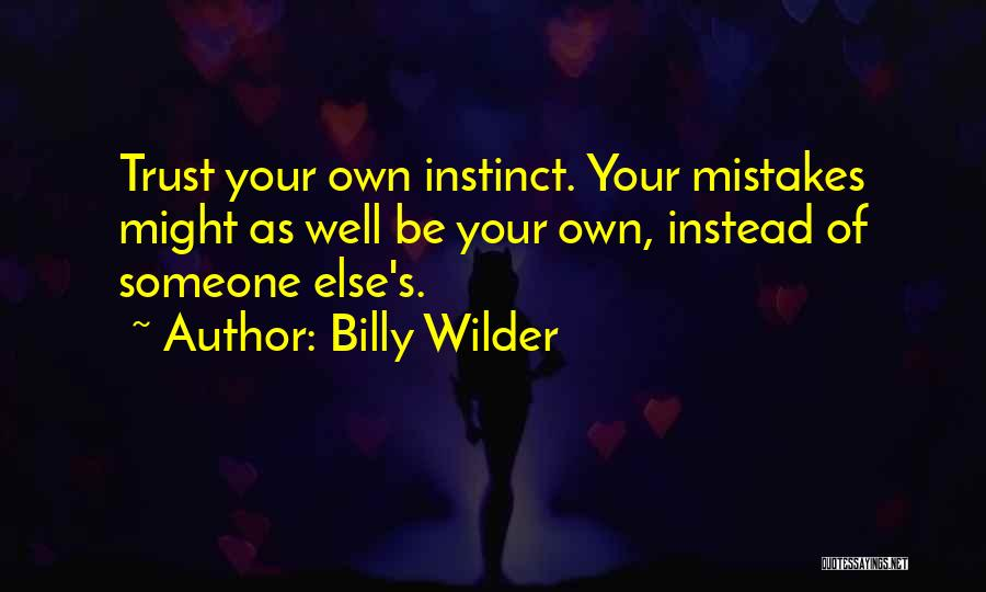 Billy Wilder Quotes 949121