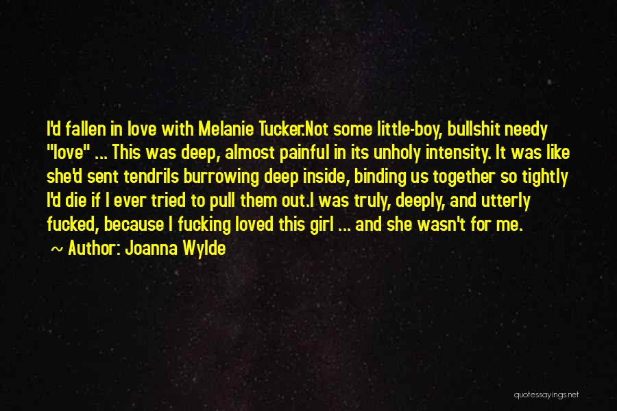 Binding Love Quotes By Joanna Wylde