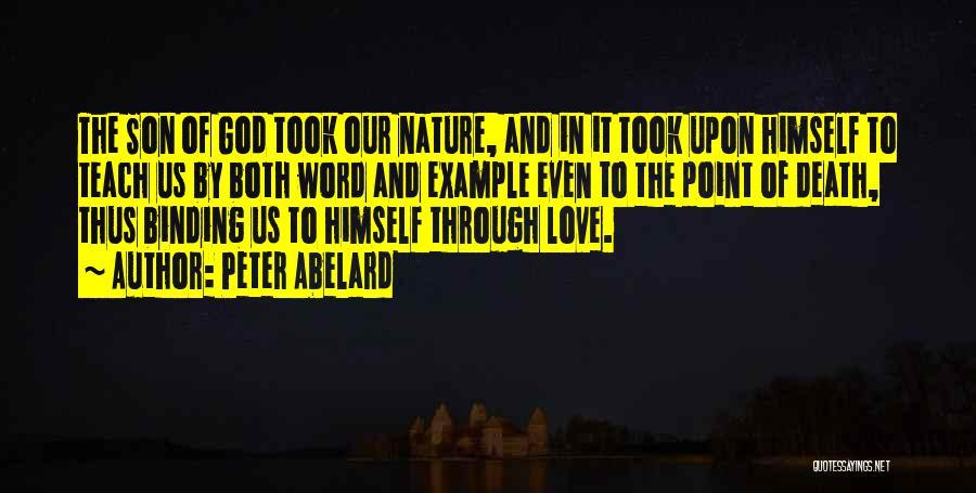 Binding Love Quotes By Peter Abelard