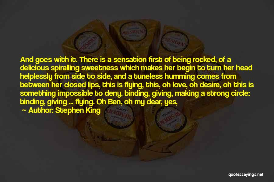Binding Love Quotes By Stephen King