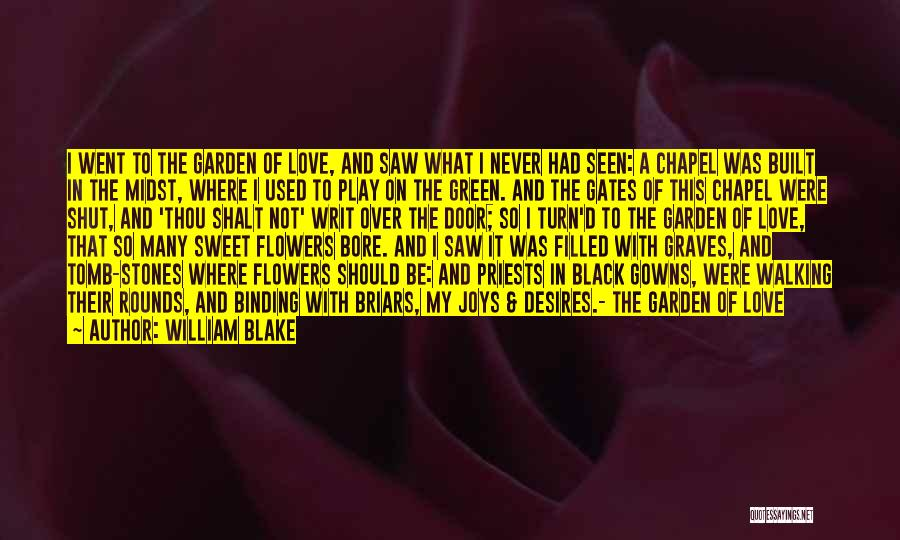Binding Love Quotes By William Blake