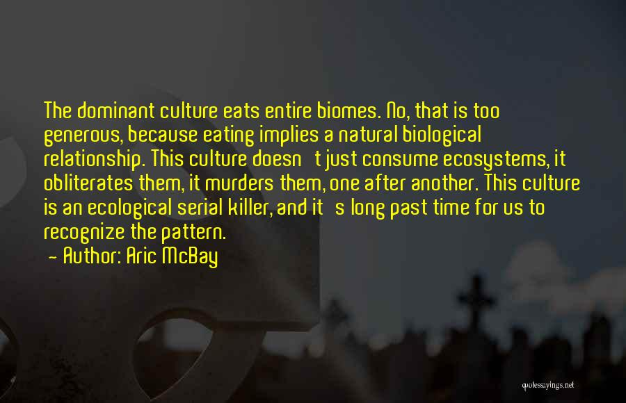 Biomes Quotes By Aric McBay