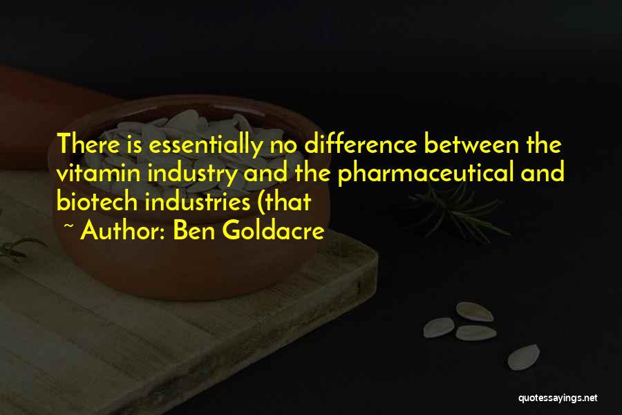 Biotech T-shirt Quotes By Ben Goldacre