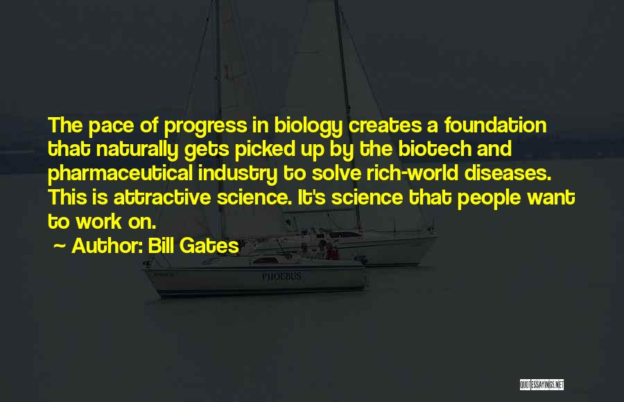 Biotech T-shirt Quotes By Bill Gates