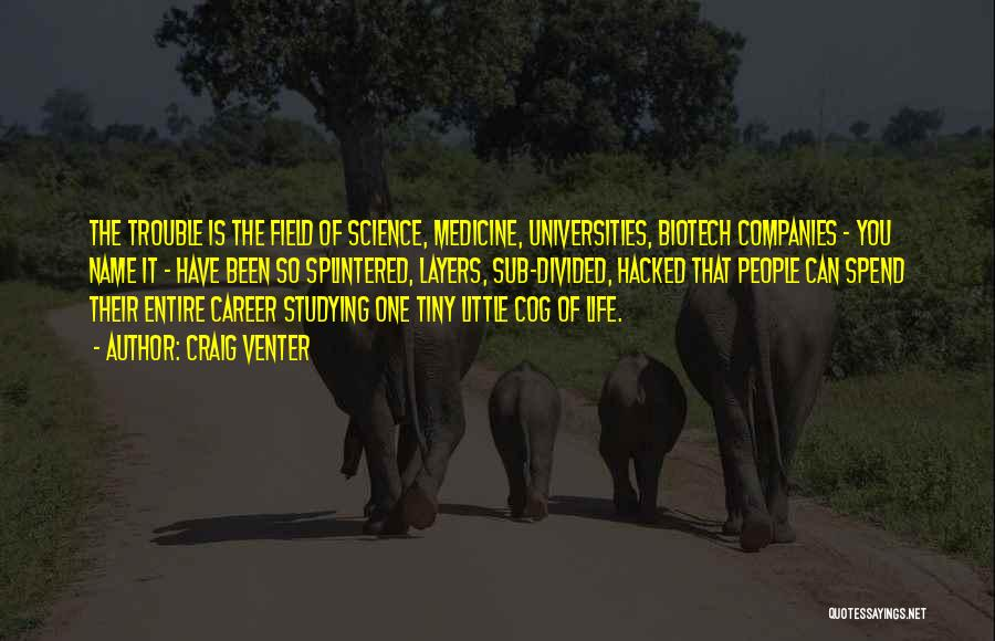 Biotech T-shirt Quotes By Craig Venter