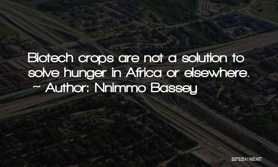 Biotech T-shirt Quotes By Nnimmo Bassey