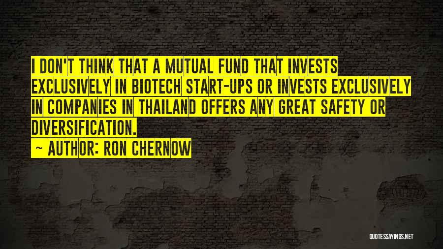 Biotech T-shirt Quotes By Ron Chernow