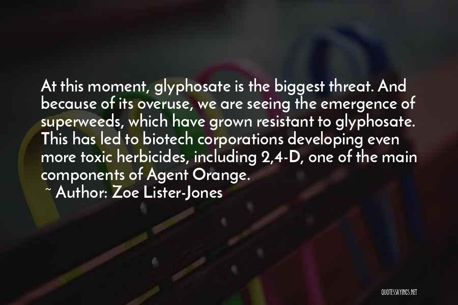Biotech T-shirt Quotes By Zoe Lister-Jones