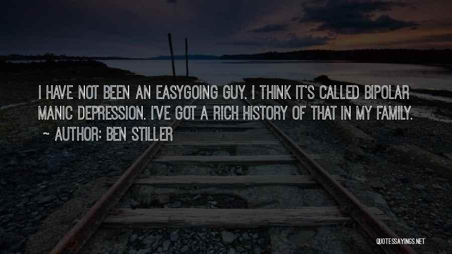 Bipolar Depression Quotes By Ben Stiller