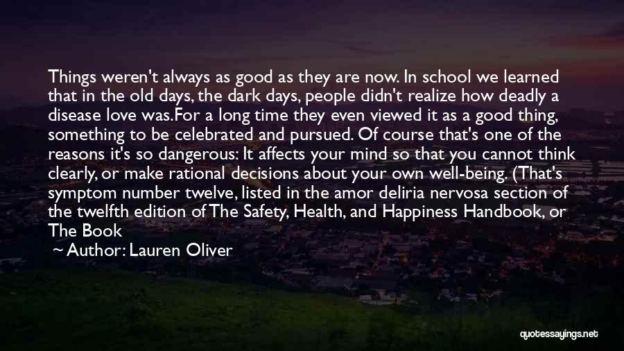Bipolar Depression Quotes By Lauren Oliver
