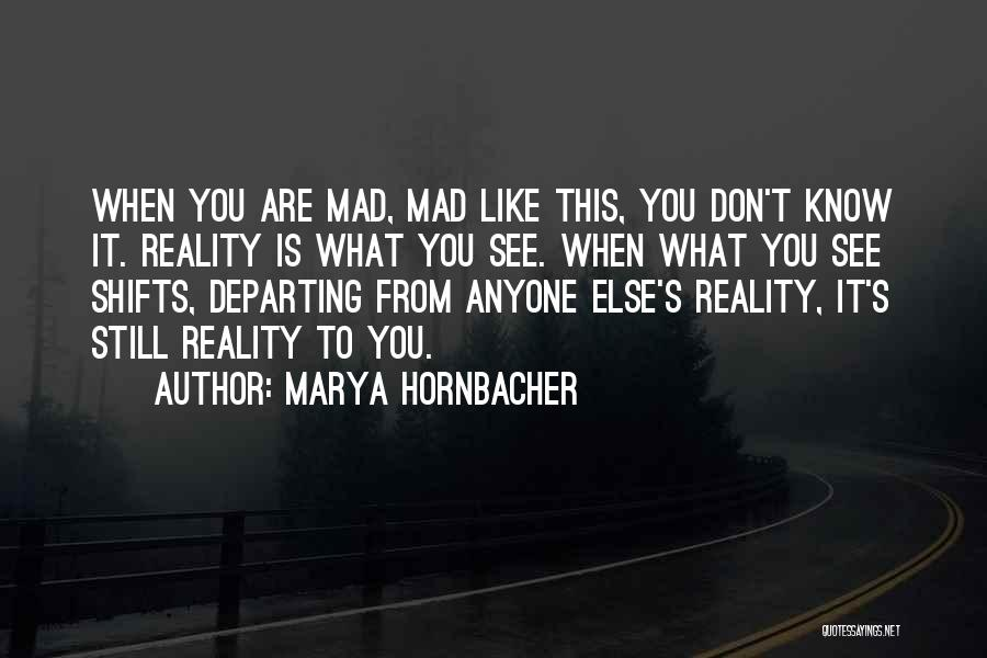 Bipolar Depression Quotes By Marya Hornbacher