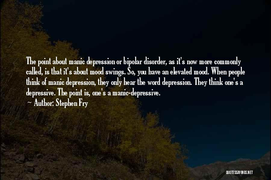 Bipolar Depression Quotes By Stephen Fry