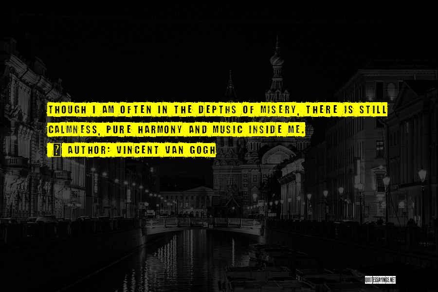 Bipolar Depression Quotes By Vincent Van Gogh