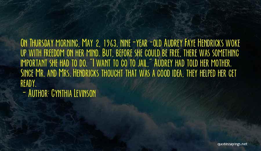 Birmingham Jail Quotes By Cynthia Levinson
