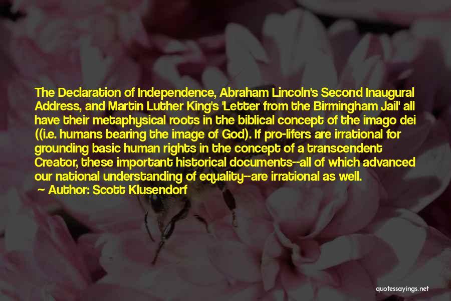 Birmingham Jail Quotes By Scott Klusendorf