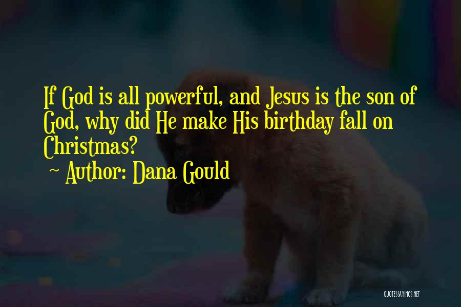 Birthday For My Son Quotes By Dana Gould