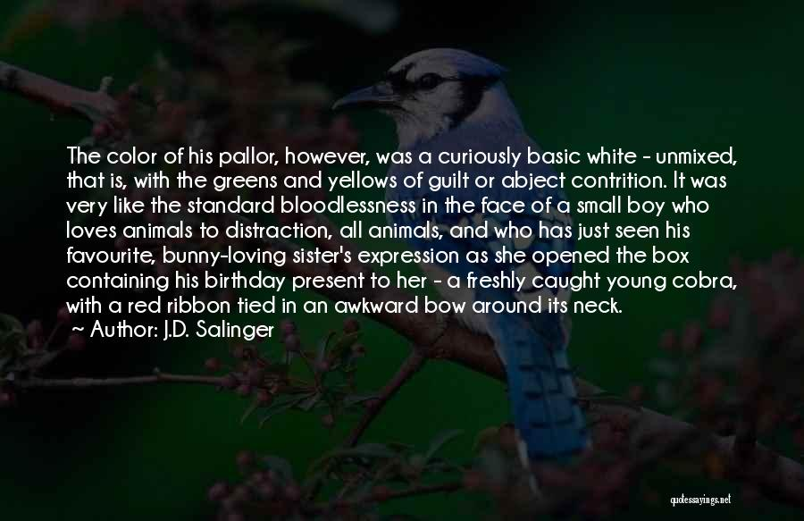 Birthday For Sister Quotes By J.D. Salinger