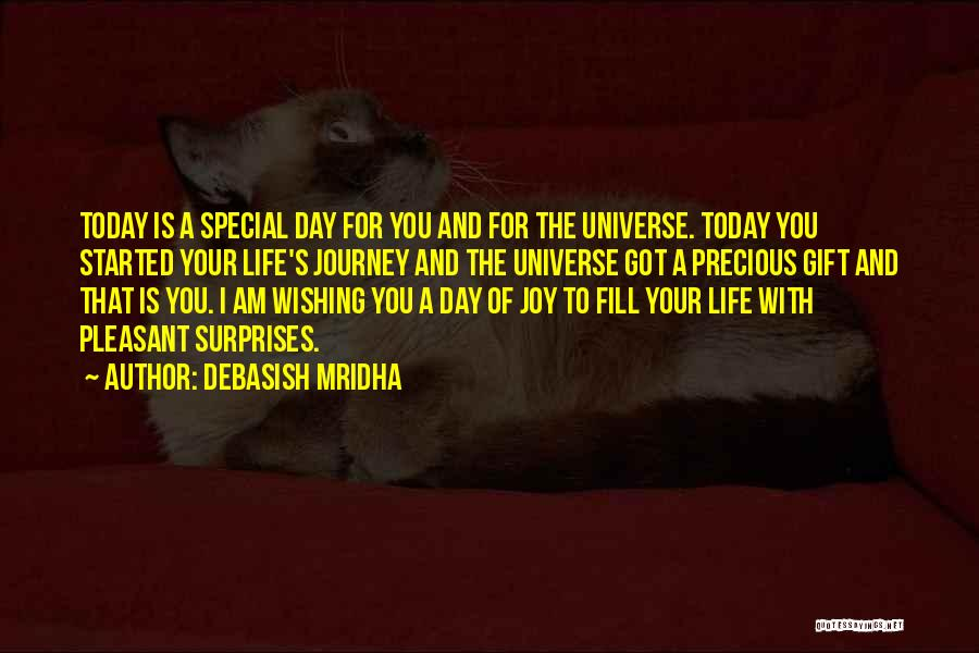 Birthday Surprises Quotes By Debasish Mridha