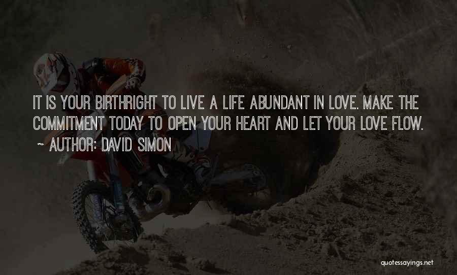 Birthright Quotes By David Simon