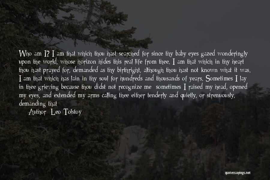 Birthright Quotes By Leo Tolstoy