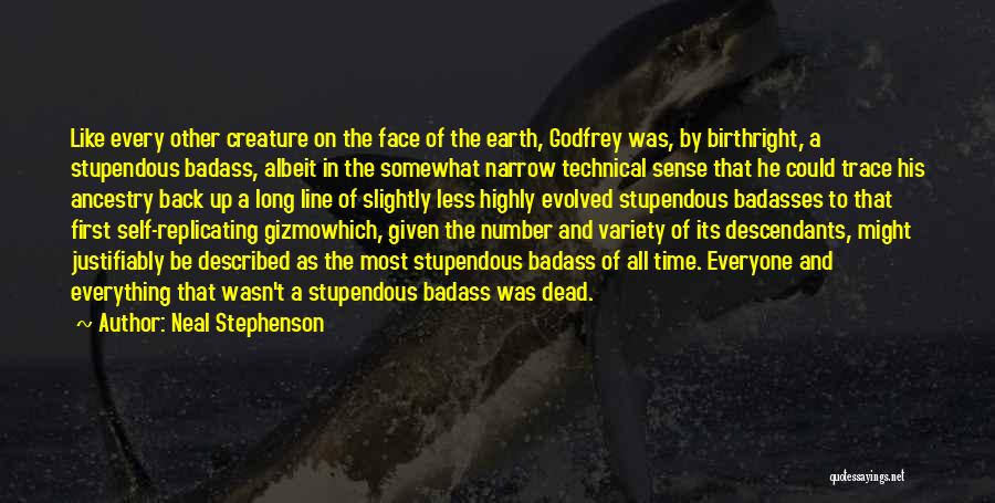 Birthright Quotes By Neal Stephenson