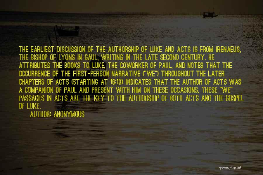 Bishop Irenaeus Quotes By Anonymous