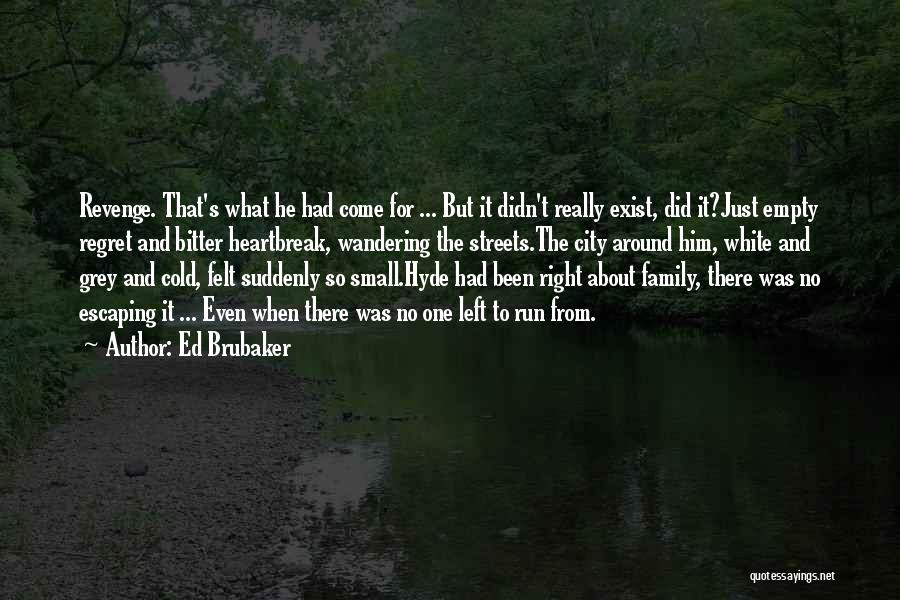 Bitter Cold Quotes By Ed Brubaker