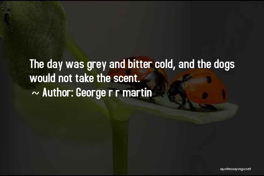 Bitter Cold Quotes By George R R Martin