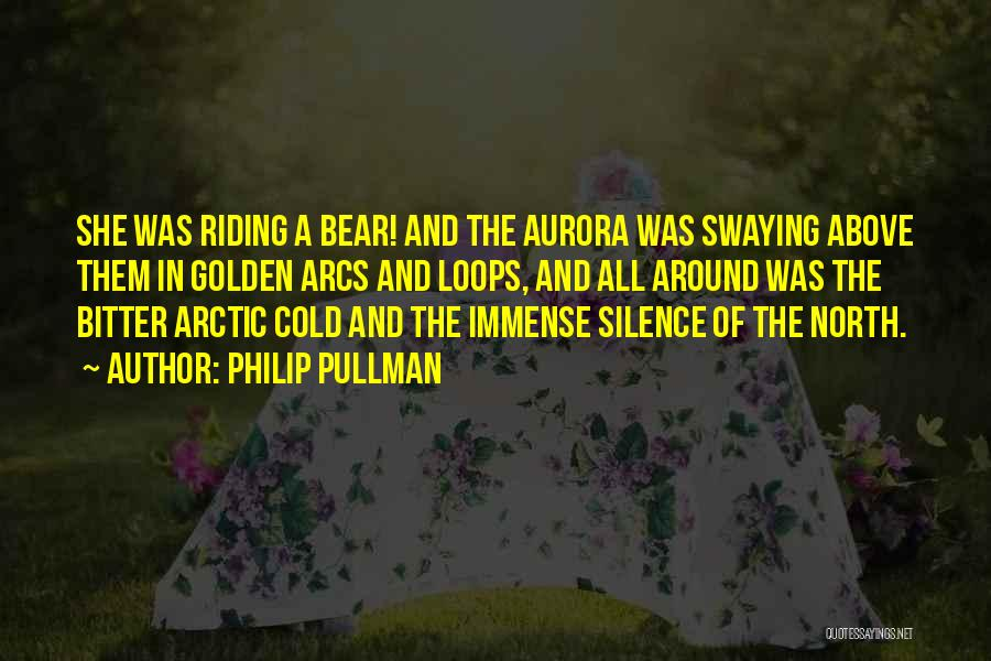 Bitter Cold Quotes By Philip Pullman