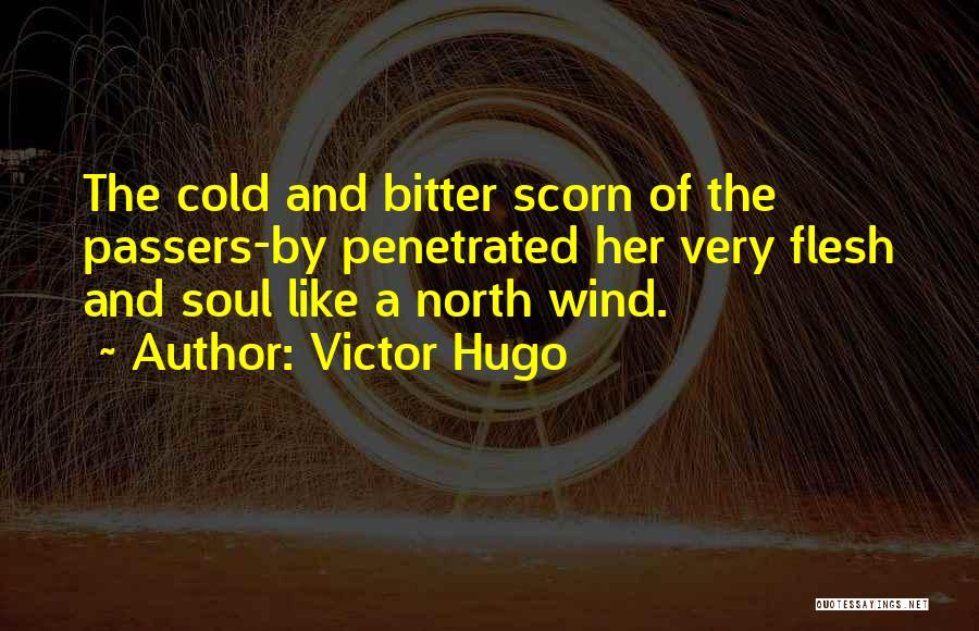 Bitter Cold Quotes By Victor Hugo