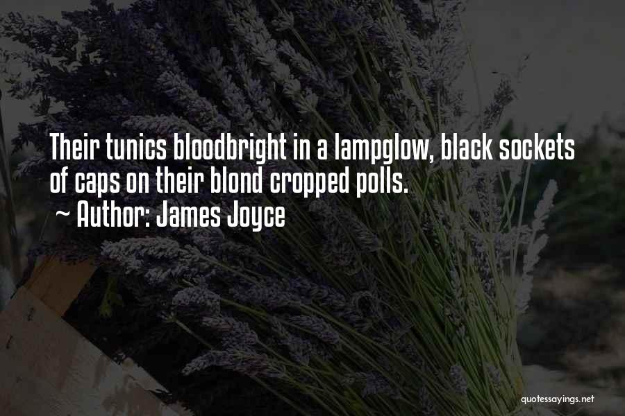 Black Caps Quotes By James Joyce